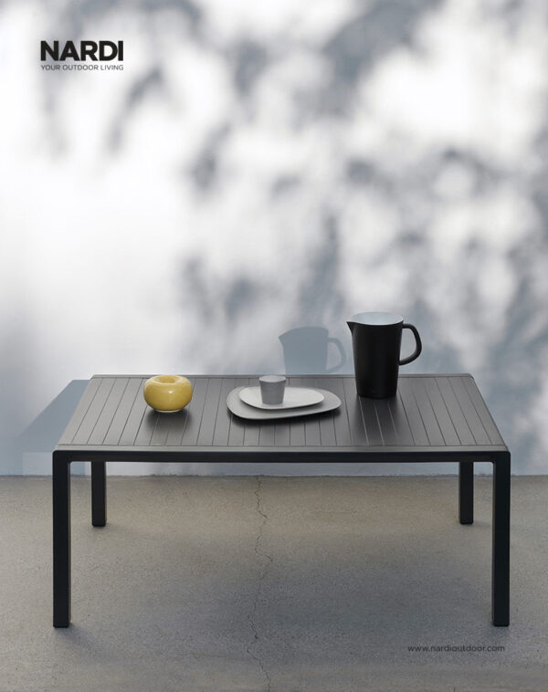 Aria Coffee Table 100 (Pictured Outdoors in the Charcoal Colour)