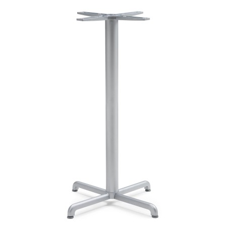 Calice Bar Leaner Base - Silver
