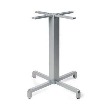 Fiore Table Base - Silver