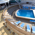 NARDI-Alfa-Sun-Loungers-around-cruise-ship-pool-Blue-White