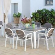 Palma Outdoor Armchair NZ on Patio with Alloro Table Set (Thumbnail)