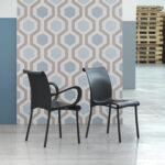 Regina Chair and Dama Chair in Charcoal