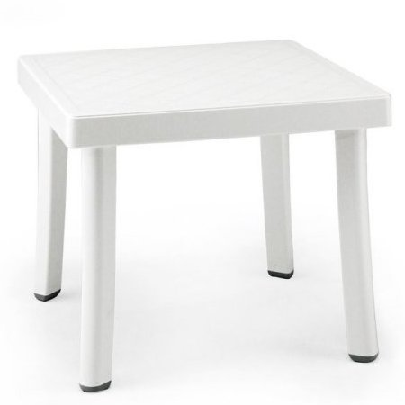 Rodi Outdoor Side Table - White