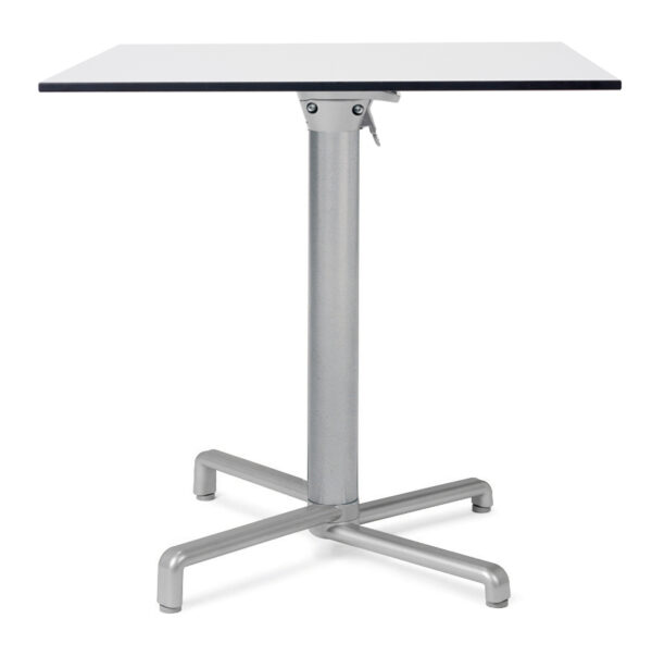 Scudo Cafe Table - Scudo Folding Table Base with HPL Table Top