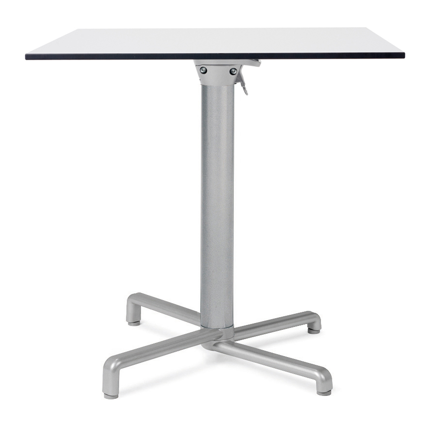 Scudo Cafe Table – Scudo Folding Table Base with HPL Table Top