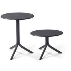 Step Table & Step Coffee Table - Charcoal