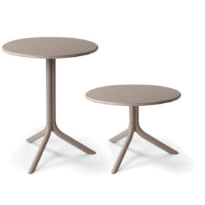 Step Table & Step Coffee Table - Taupe