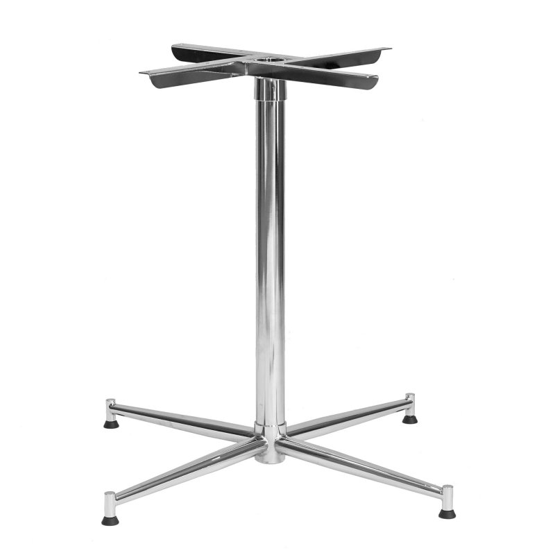Tasman 590 Table Base - Chrome