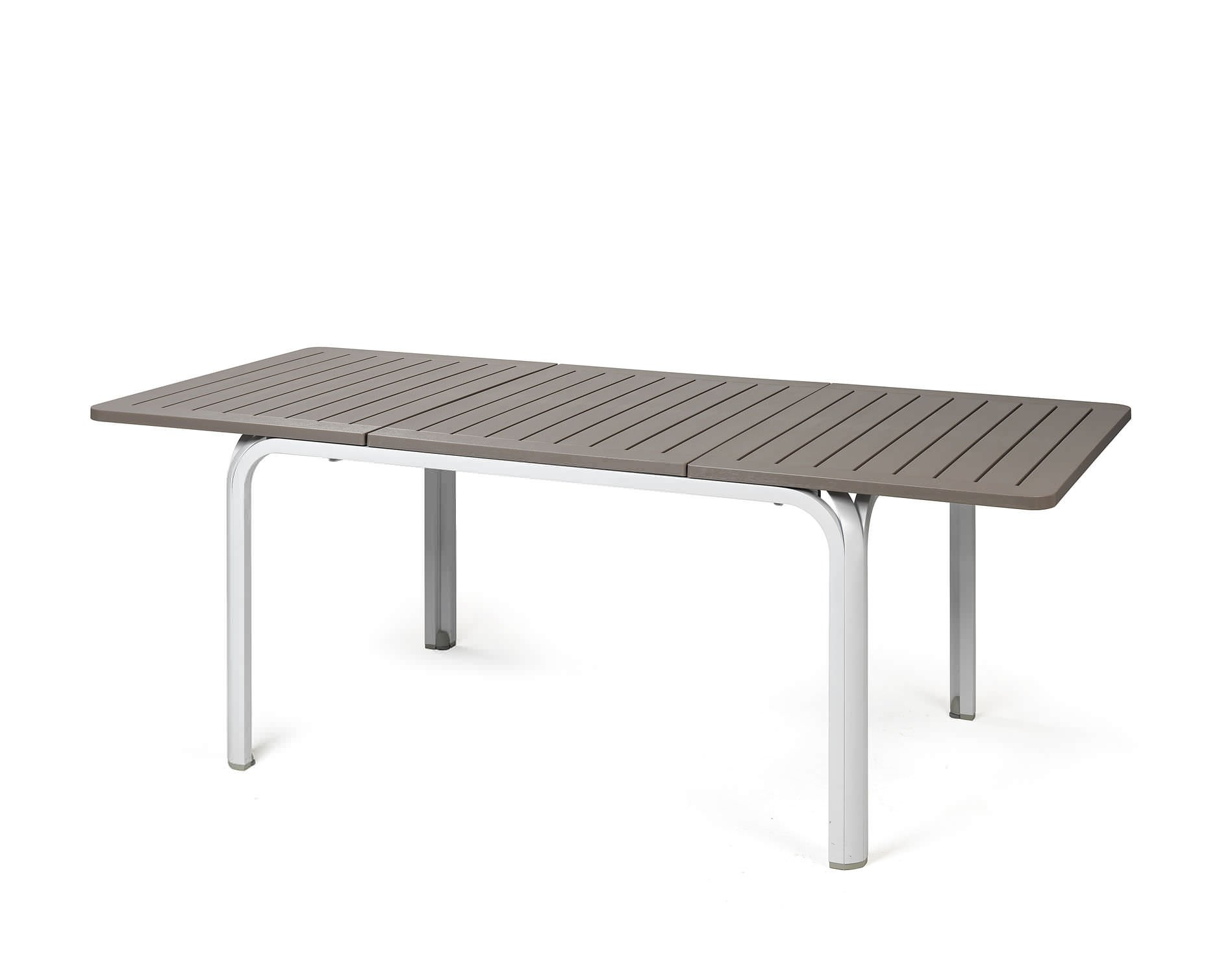 Alloro 140 extendable outdoor dining table bydezign nz ltd for Table extensible 3 suisses