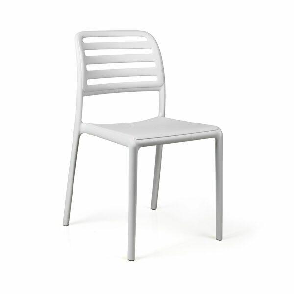 Costa Bistro Chair - White