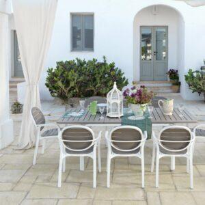 Extendable outdoor patio dining set NZ
