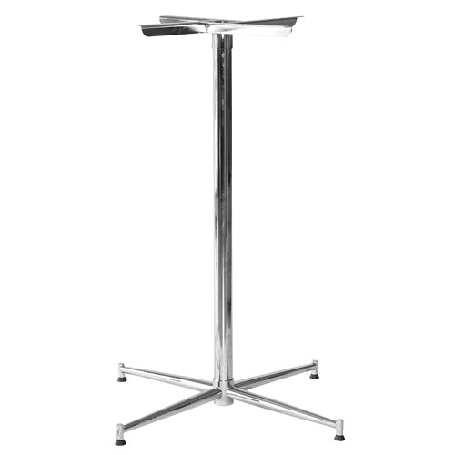 Tasman Bar Leaner Base - Chrome