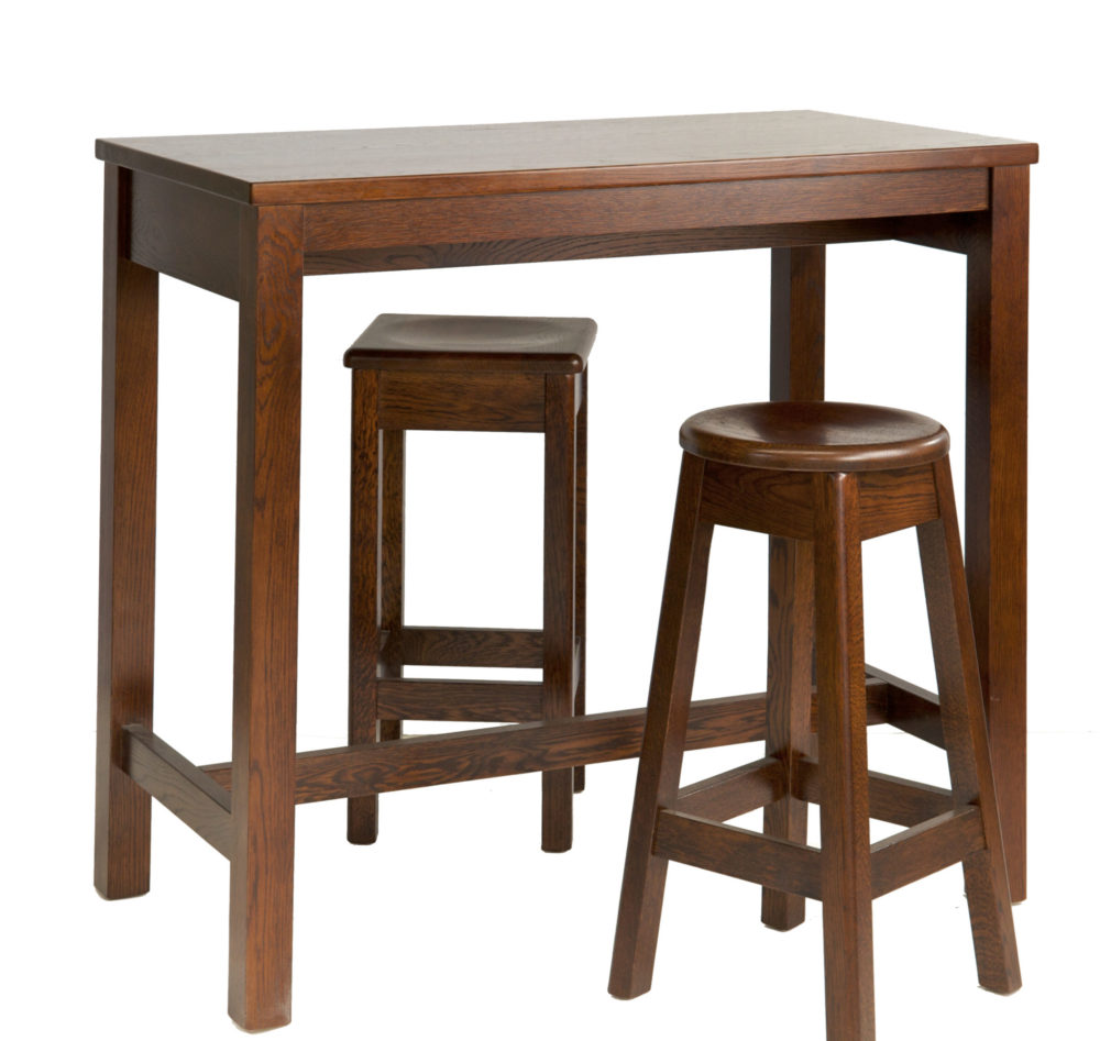 Texas Oak Bar Stool
