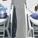 Atlantico Sun Loungers – White (Pictured from an overhead angle)