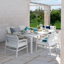 Aria Alloro 7-Piece Outdoor Dining Setting Thumbnail