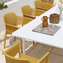 Net Alloro 9-Piece Outdoor Dining Setting Thumbnail