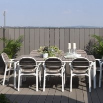 Palma Alloro 9-Piece Outdoor Dining Setting Thumbnail