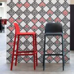 NARDI-Faro-Tall-Bar-Stools-in-Red-and-Charcoal
