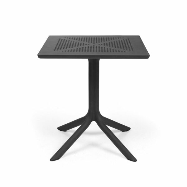 Clip 70 Outdoor Balcony Table - Charcoal