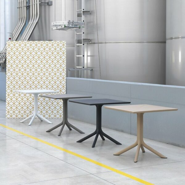 Clip Tables - Full Colour Range in Factory