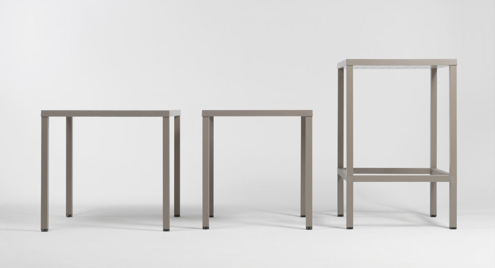 Cube Table Range (Cube 80, 70, and 70 with Bar Leaner Kit)