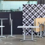Scudo Folding Table Base Entire Range – Single Stem, Bar leaner, Double