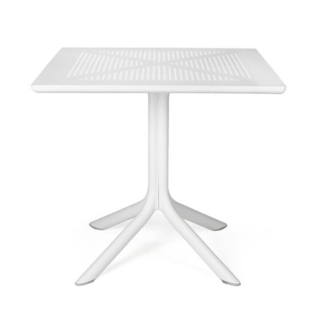 Clip Outdoor Cafe Table - White