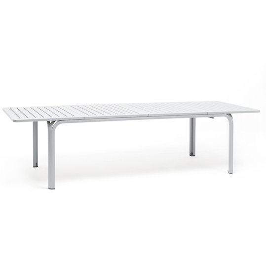 Alloro Outdoor Extendable Dining Table NZ - White