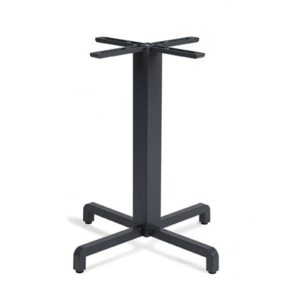 Fiore Table Base – Charcoal