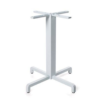 Fiore Table Base - White