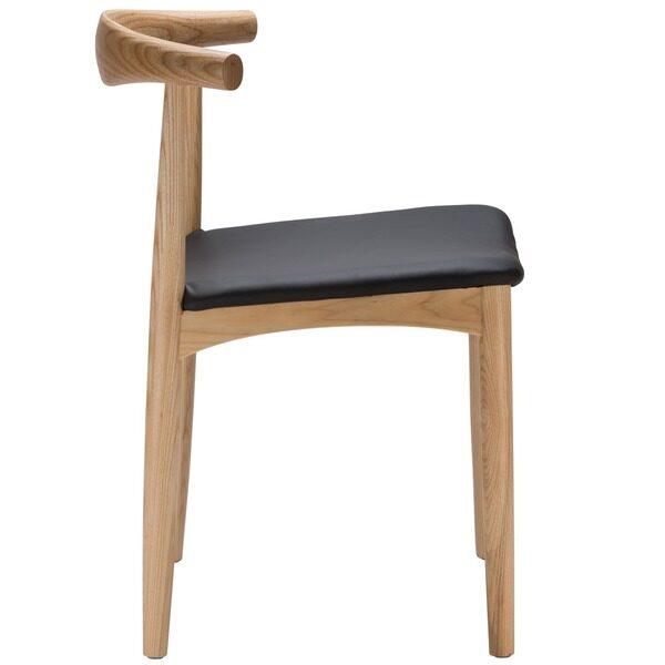 Hans Wegner Elbow Chair NZ Replica - Profile View