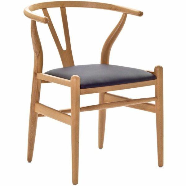 wishbone chair replica natural bydezign furniture