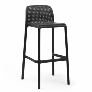 NARDI Lido Tall Outdoor Bar Stool - Charcoal