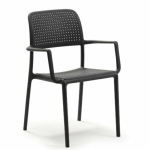 NARDI Bora Arm Chair - Charcoal