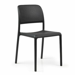 Outdoor Chairs - Bora Bistro Chair in Charcoal