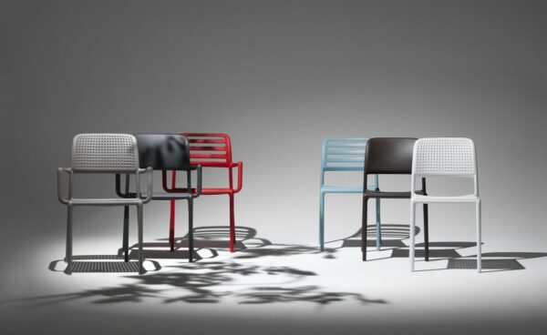 NARDI Bora, Riva, Costa in Arm Chairs and Bistro Versions