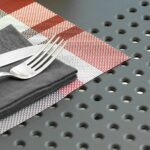 Levante 7 Piece Dining Set texture charcoal
