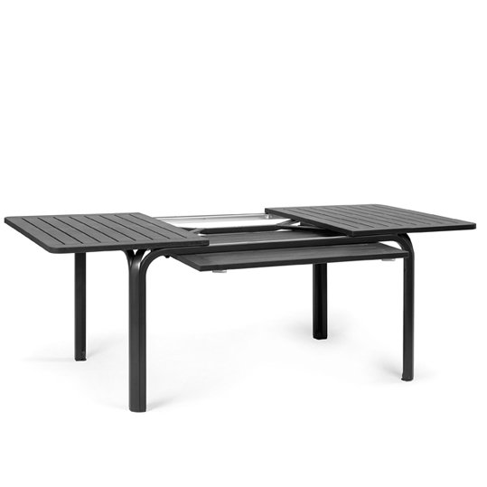 Alloro Extendable Outdoor Table NZ - Charcoal