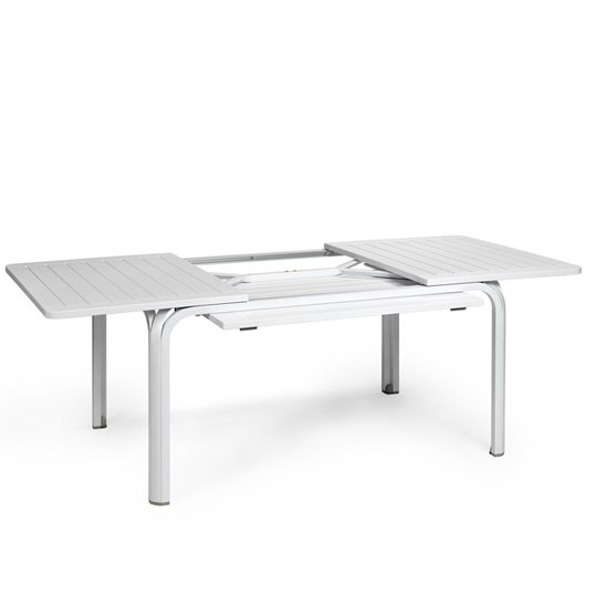 Alloro Extendable Outdoor Table NZ - White