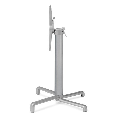 Scudo Folding Table Base - Silver