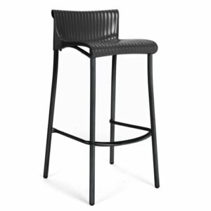 Duca Tall Bar Stool - Charcoal