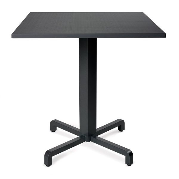 Durel Table 700 Square – Fiore Table Base & Durel Table Top (Charcoal)