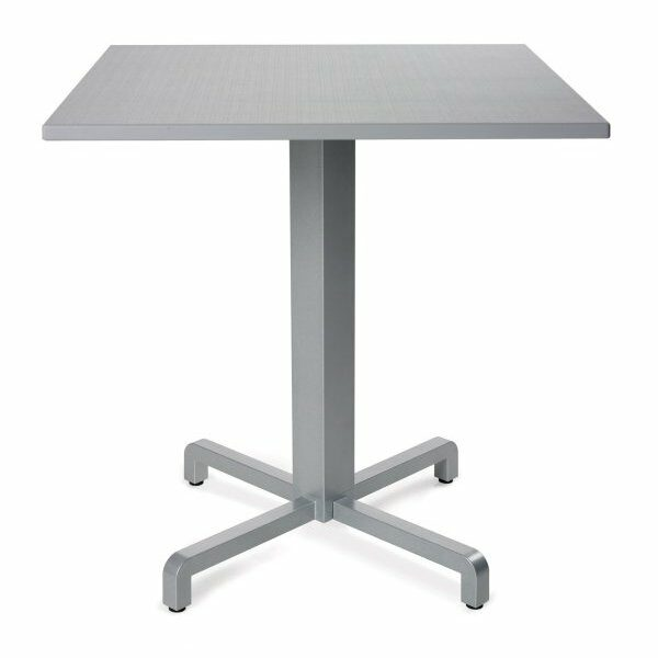 Durel Table 700 Square - Fiore Table Base & Durel Table Top (Grey)