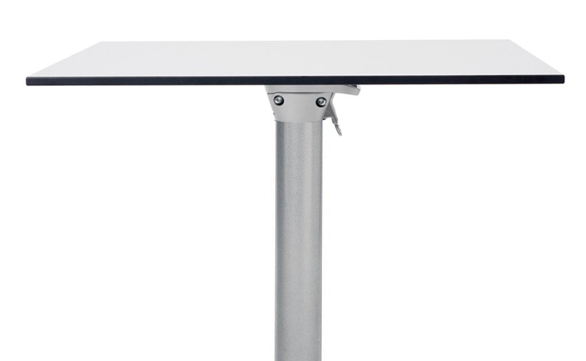 HPL Table Top in Grey with Scudo Folding Table Base