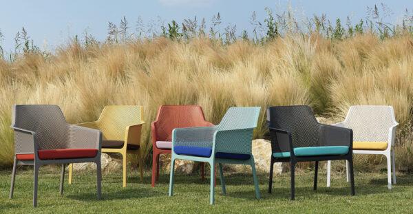 Net Relax Lounge Chair - Colour Range
