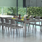 Rio 210-280cm Extendable Outdoor Dining Setting (Taupe) – Rio Table & Riva Chairs