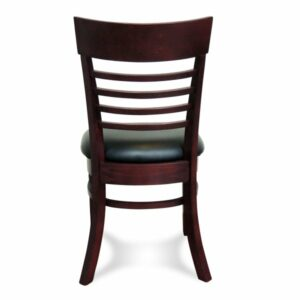 Chicago Dining Chair - Mahogany (Back View)