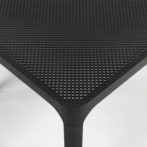 NARDI Net 100 Coffee Table - Corner and Table Top (Charcoal)
