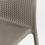 NARDI Lido Outdoor Counter Height Stool seat and back texture