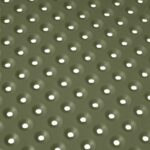 Step Bistro 3-Piece Balcony Setting Hole Punch Perforations in Olive Green